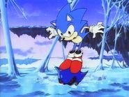 Sonic on metals head