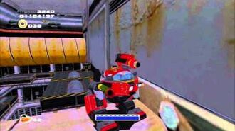 Sonic Adventure 2 (PS3) Iron Gate Mission 3 A Rank