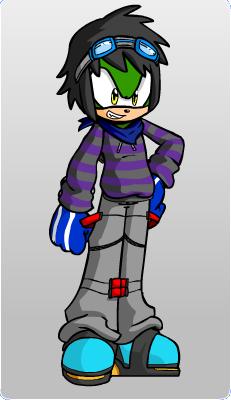 File:David the Hedgehog.png
