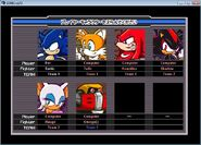 Team Sonic vs Team Dark