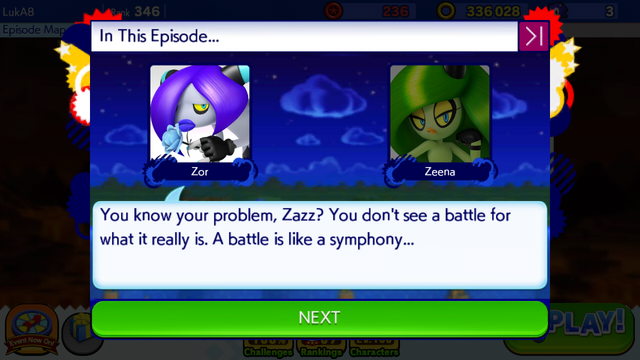File:Sonic Runners Zazz Raid Event Zeena Zor Cutscene (2).png