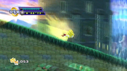 Super Sonic in Sylvania Castle Zone HD
