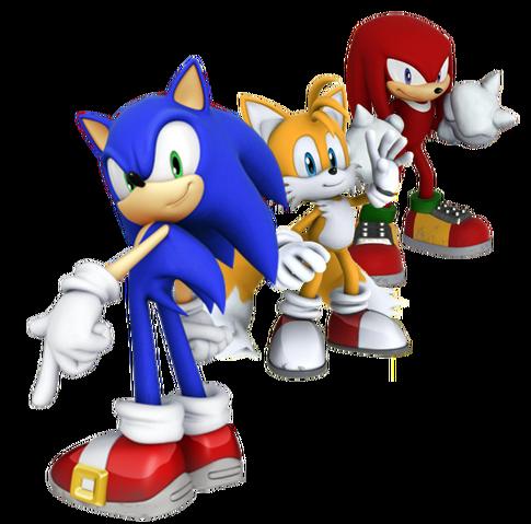 File:Team Sonic, Fan-Art.png