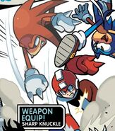 Sharp Knuckles Mega Man