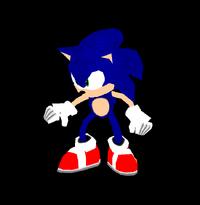 SonicAdventureAutodemo SonicPose