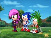 Sonic Underground protagonists
