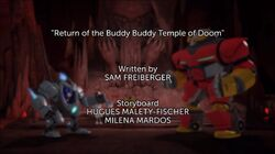 Return of the Buddy Buddy Temple of Doom TC