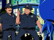 Sonic and Cops
