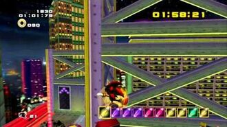 Sonic Adventure 2 (PS3) Radical Highway Mission 4 A Rank