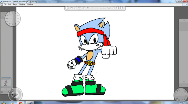 File:Fighter the Hedgehog by Metal.png