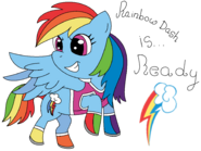 Rainbow Dash's power is READY for a new adventure!