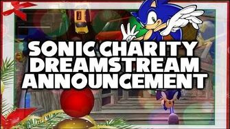 Sonic Charity Dreamstream - Announcement & Information! (BIG HOLIDAY EVENT)-0