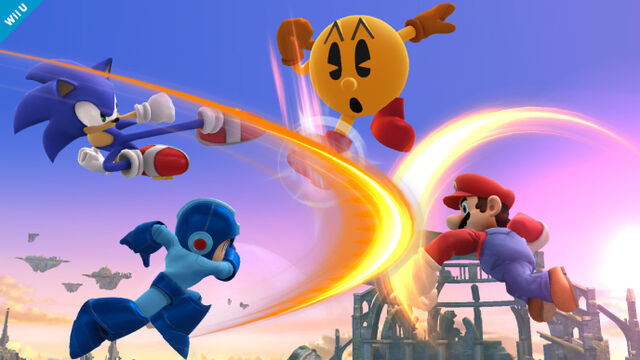 File:Sonic attacking pac man.jpg
