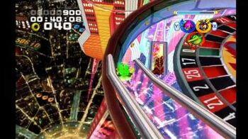 Sonic Heroes Casino Park (Team Chaotix)