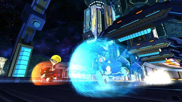 File:Sonic v Shadow Boss ARK Race.jpg