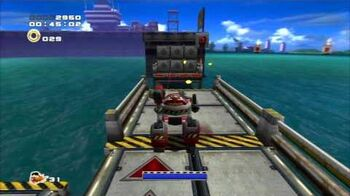 Sonic Adventure 2 (PS3) Weapons Bed Mission 2 A Rank