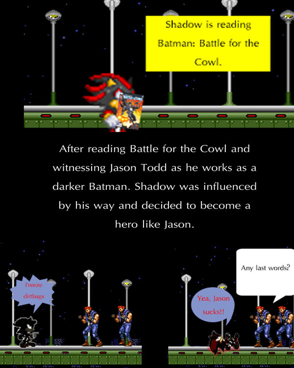Batman Shadow comic