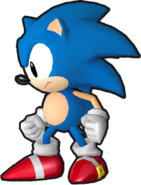 Sonic Runners Classic Sonic Model