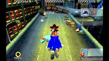 Shadow the Hedgehog (GC) Lethal Highway Hero Mission A Rank