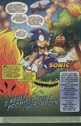 Sonic X issue 5 page 1