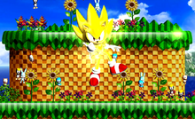 Super Sonic the Hedgehog 4