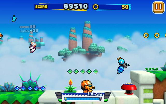 File:Sky Road (Sonic Runners) - Screenshot 5.png