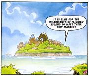 Flickies Island Fleetway