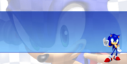 Rivals Sonic loading screen no text