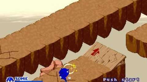 SegaSonic the Hedgehog - Landslide Limbo