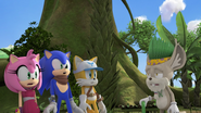 Amy Sonic Tails and Gogaba Chief