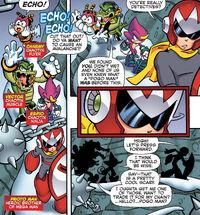 Chaotix and Proto Man
