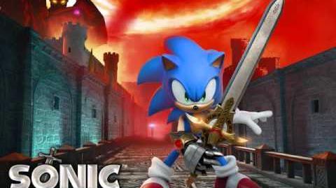 Live life sonic the hedgehog black knight-full