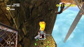 Sonic Adventure 2 (PS3) Sky Rail Mission 4 A Rank