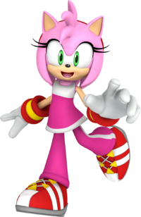 Fat Amy Rose The Hedgehog