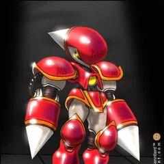 Concepto de Mecha Sonic Type III.