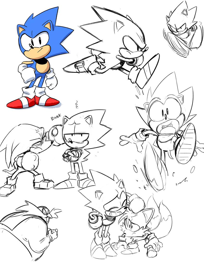 Image - Sonic Mega Drive artwork 1.jpg | Sonic News ...