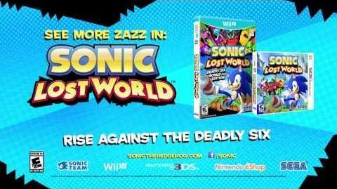 Sonic Dash - Sonic Lost World Boss Battle Trailer