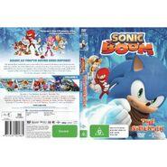 Sonic Boom The Sidekick AUS full cover