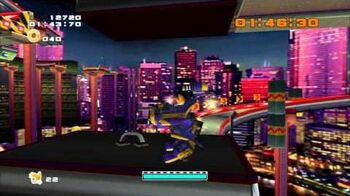 Sonic Adventure 2 (PS3) Mission Street Mission 4 A Rank