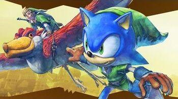 Sonic Lost World - Zelda DLC Trailer