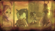 Sonic And The Secret Rings - World Ring Collection 4 - Blue World Ring