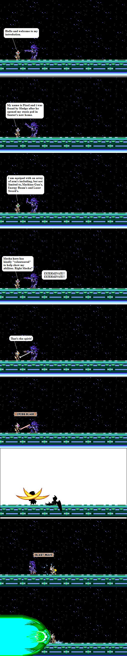 Pixel intro