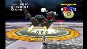Sonic Heroes Egg Emperor (Team Sonic)