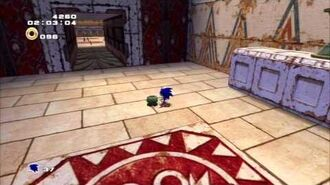 Sonic Adventure 2 (PS3) Pyramid Cave Mission 5 A Rank