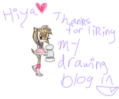 Thanks for liking my art blog