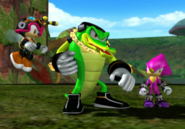 Sonic Gems Collection Heroes Chaotix 4