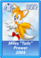 Card 022 (Sonic Rivals)