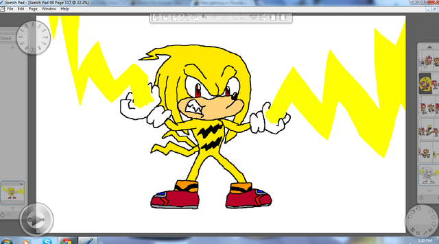 File:Thunder the Echidna.png