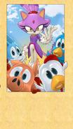 Sonic Jump - Blaze Ending