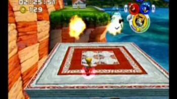 Sonic Heroes - Super Hard Mode - Stage 1 (Seaside Hill)